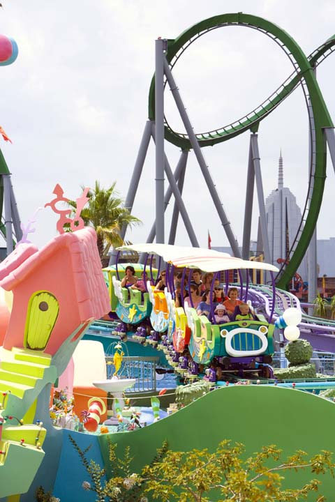 This fun ride is perfect for little visitors to Universal's Islands of Adventure.