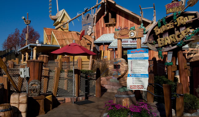 Get a soaking at Bilge-Rate Barge at Universal's Islands of Adventure.