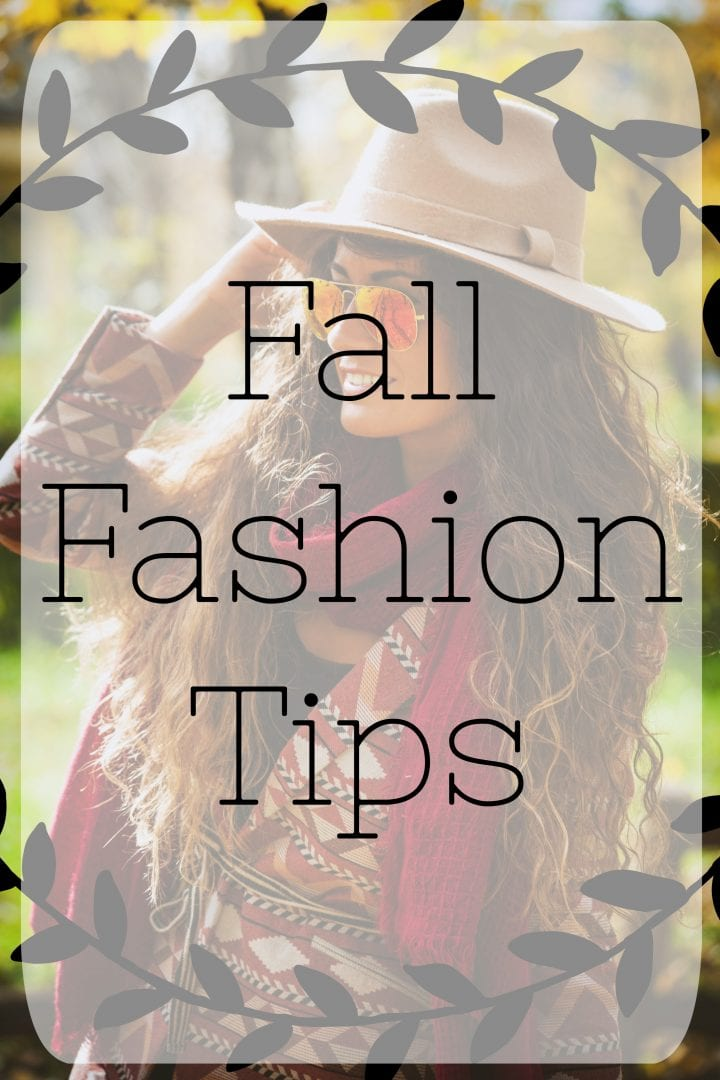 Fall Fashion Tips with TJ Maxx