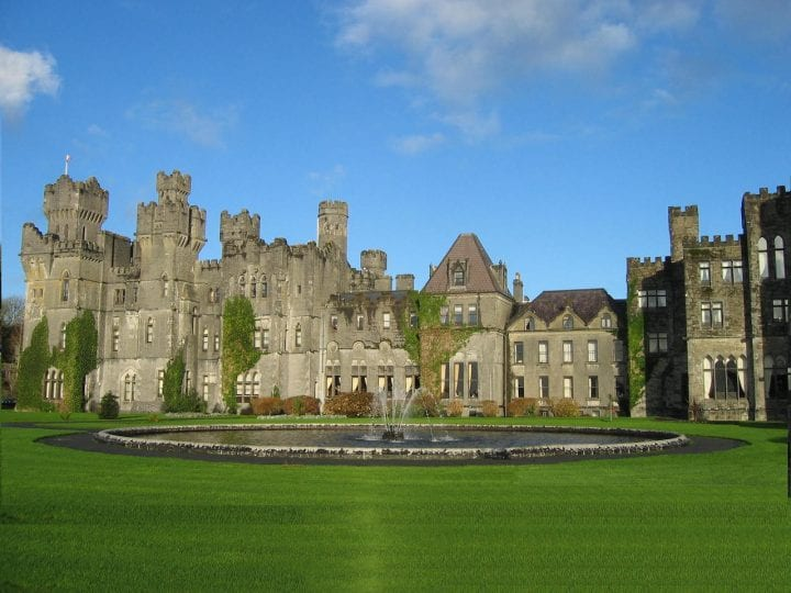 Ashford Castle in Ireland