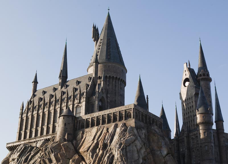Universal Harry Potter Hogwarts Castle