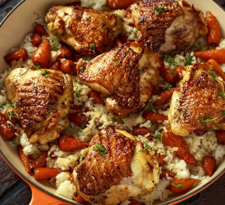 Baked Roasted Chicken Recipe