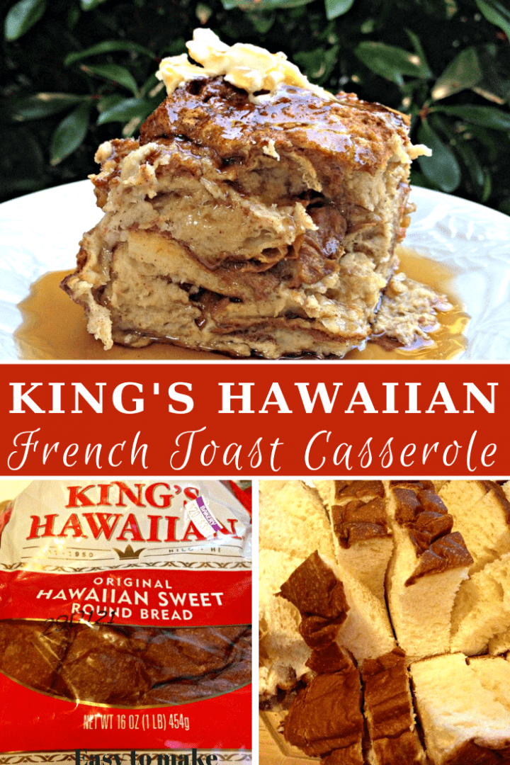 King's Hawaiian Bread French Toast Casserole Recipe