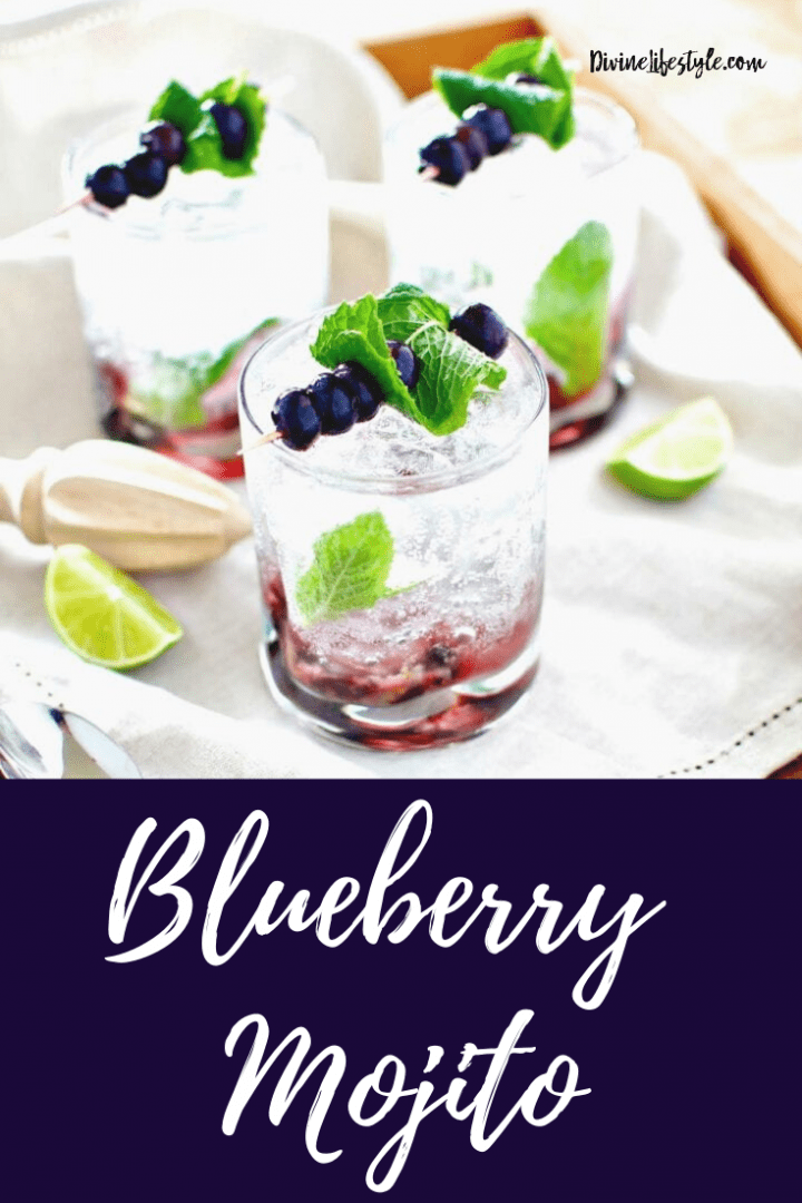 Fresh Blueberry Mojito Recipe