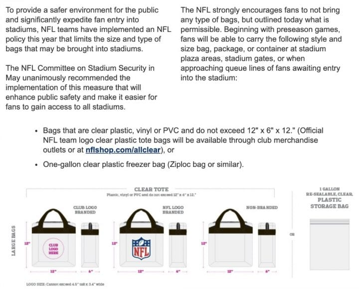 Everything you need to know about the NFL All Clear Policy #NFLAllClear