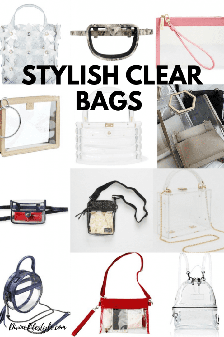 Stylish NFL Clear Bags in all price ranges