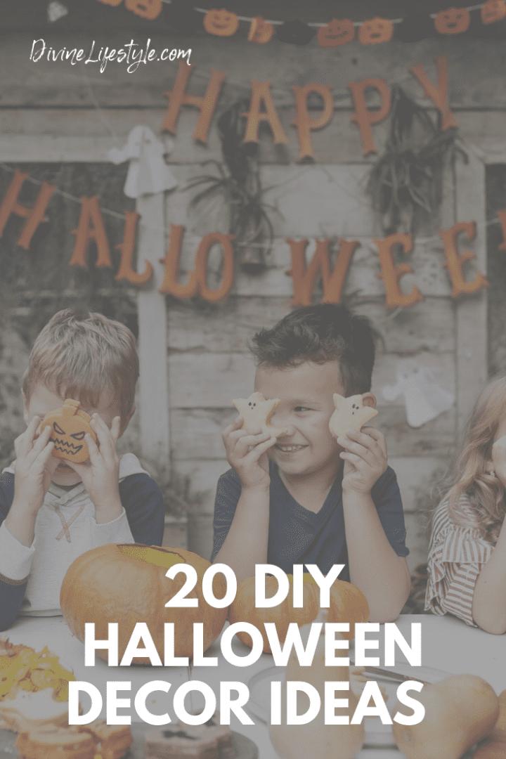 20 DIY Halloween Decor Ideas