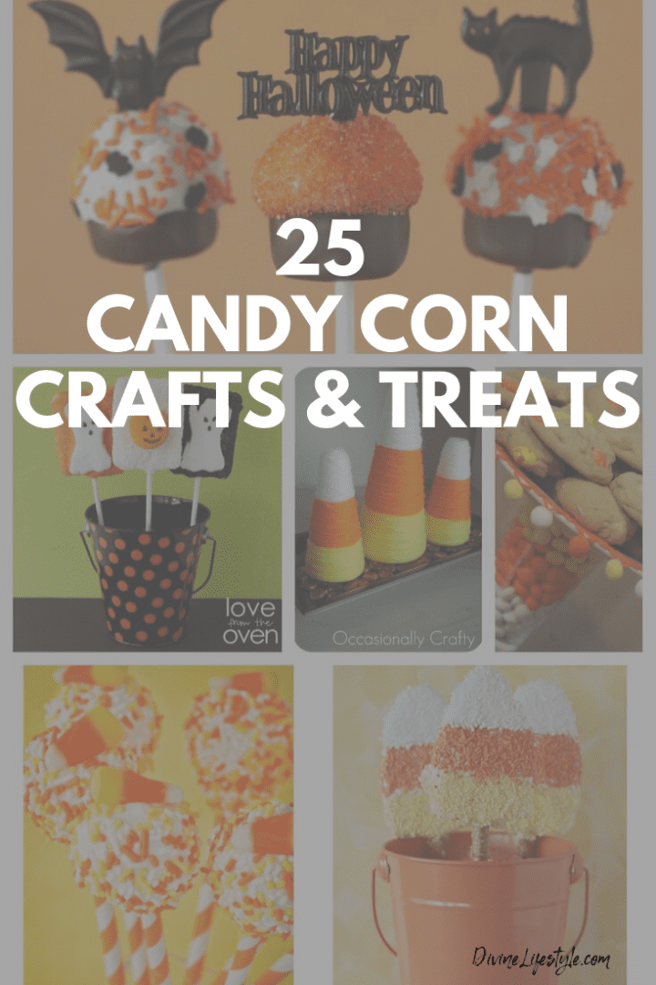 25 Candy Corn Crafts and Treats