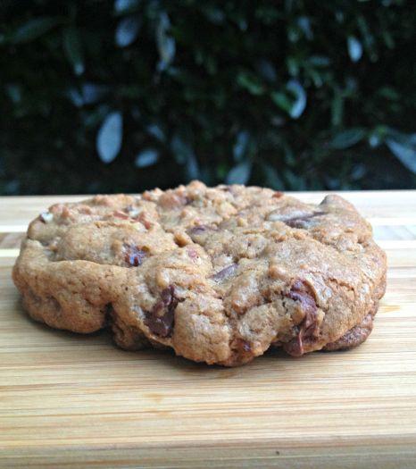 Cinnamon Pecan Chocolate Chip Cookies with Pink Himalayan Sea Salt Recipe