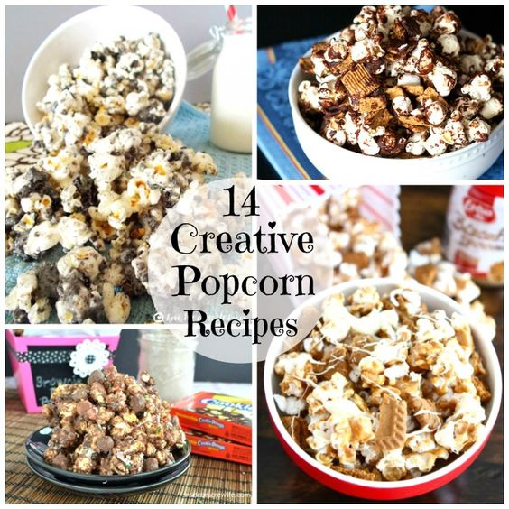 14 Creative Popcorn Recipes