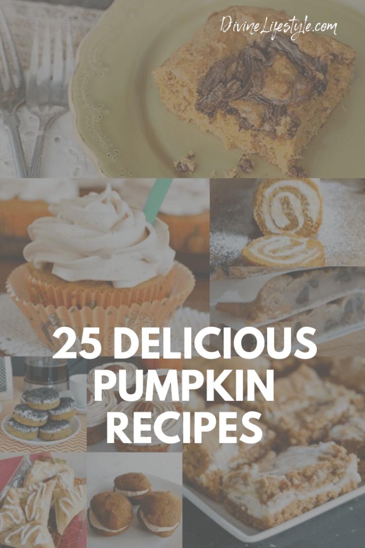 25 Delicious Pumpkin Recipes