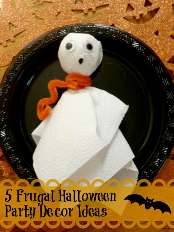 DIY Frugal Halloween Party Decor