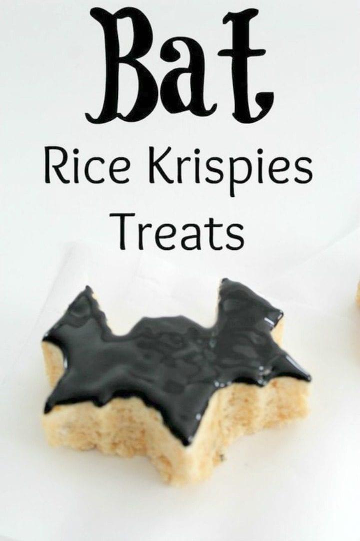 Bat Rice Krispies Treats Recipe