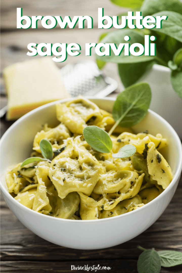 Brown Butter Sage Ravioli Recipe
