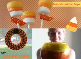 Candy Corn Sweet Treats and Crafts