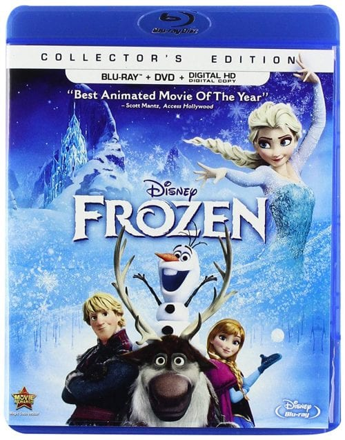 Disney FROZEN Collectors Edition DVD FROZEN II Printables Recipes Activity Sheets and Games #DisneyFrozen