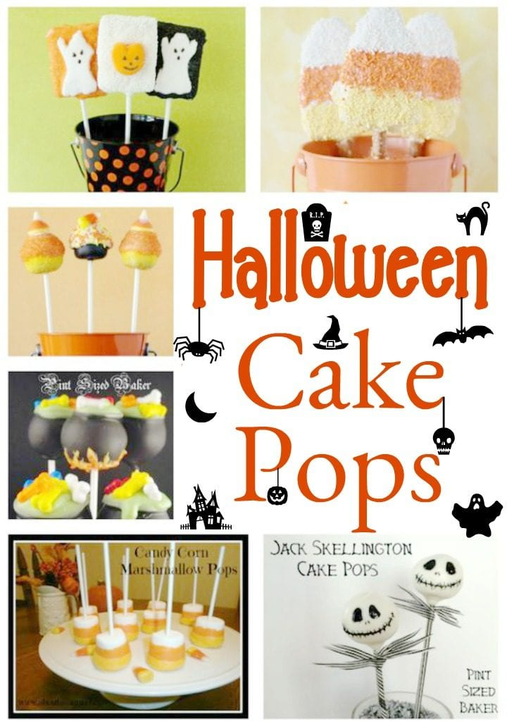 Delicious Halloween Cake Pops
