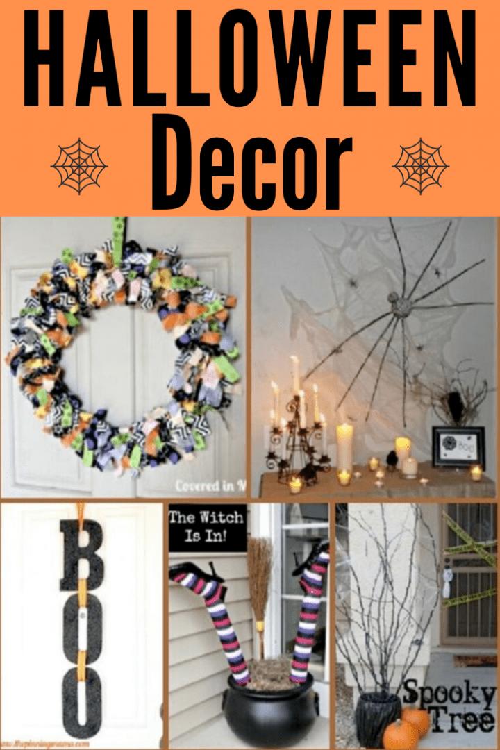 20 DIY Halloween Decor Crafts