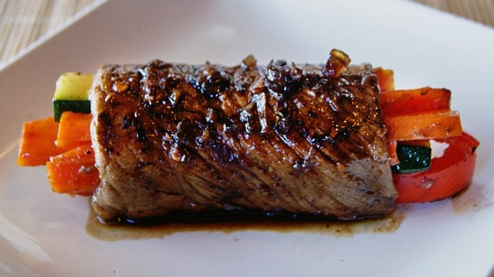 Orange Balsamic Glazed Steak Rolls Recipe 6