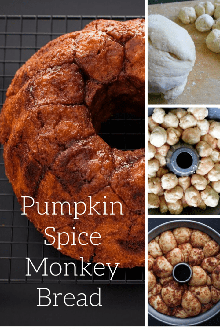 Pumpkin Spice Monkey Bread Recipe