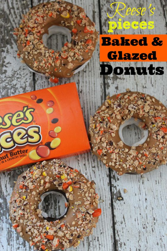 Reeses Pieces Donuts Recipe