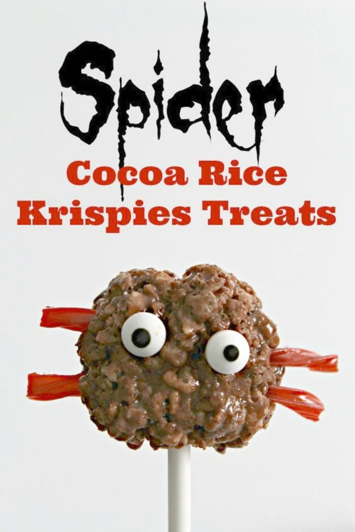 Spider Rice Krispies Treats Recipe
