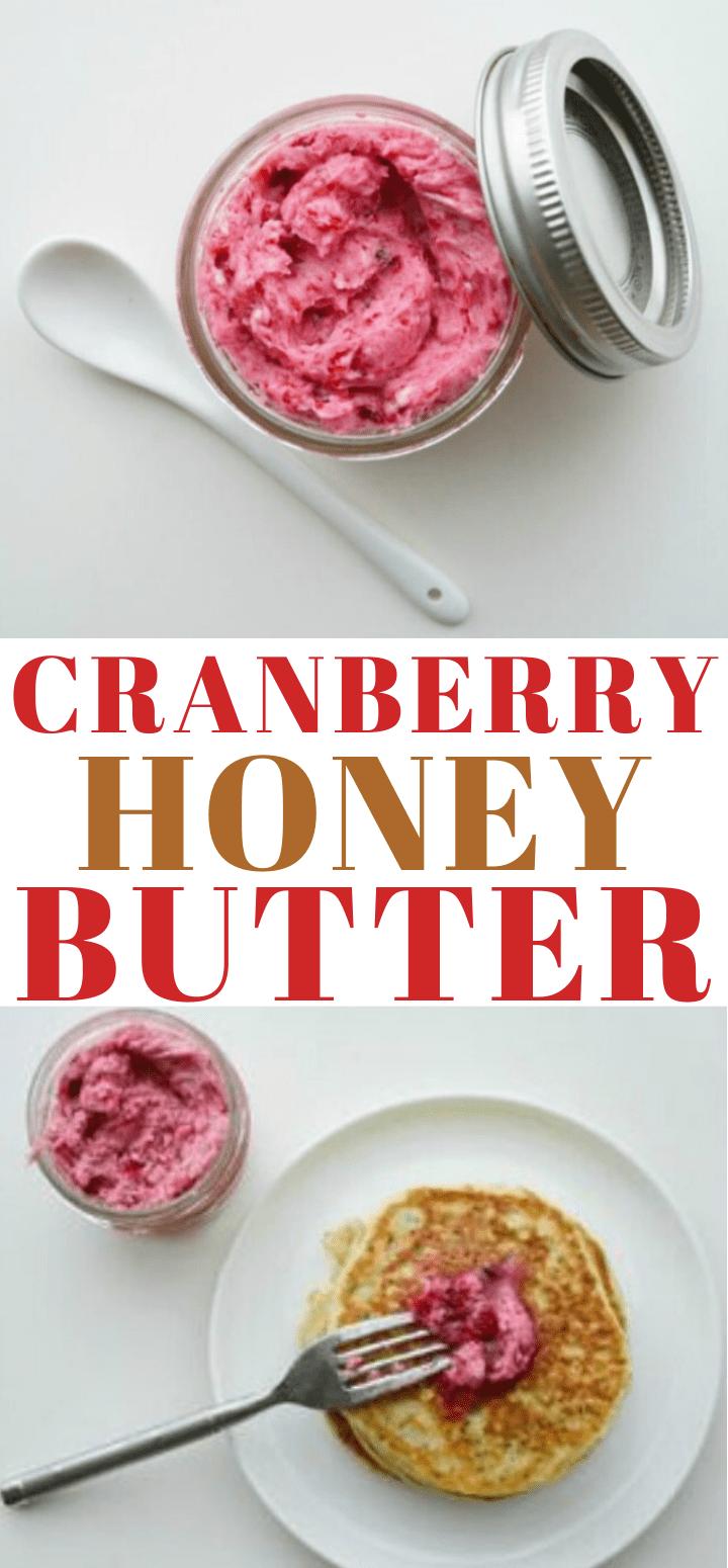 Cranberry Honey Butter Recipe