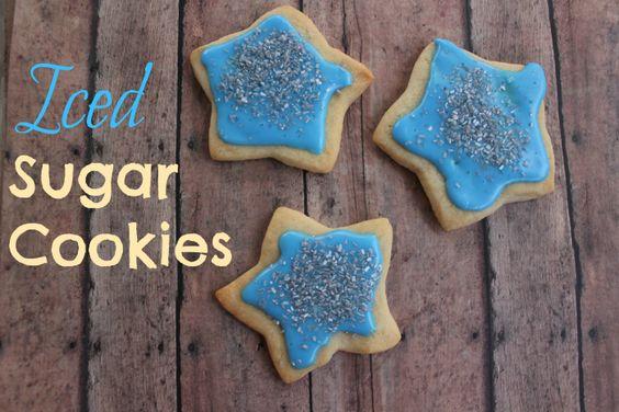 Iced sugar cookie 1