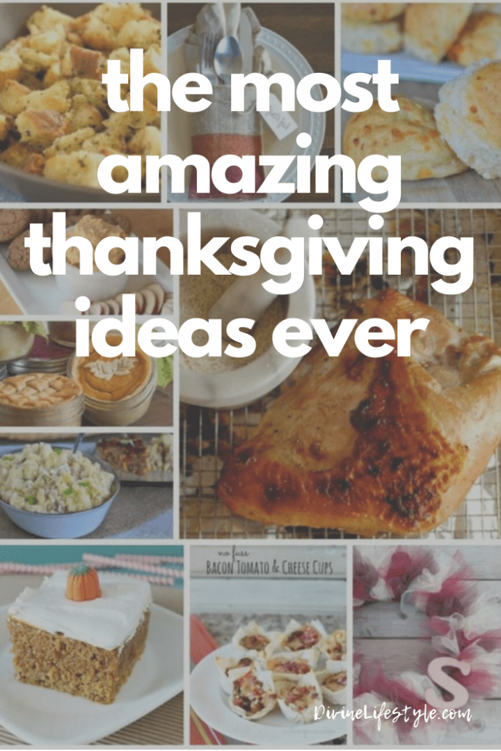 The Most Amazing Thanksgiving Ideas Ever - a guide to recipes, decor, drinks and more