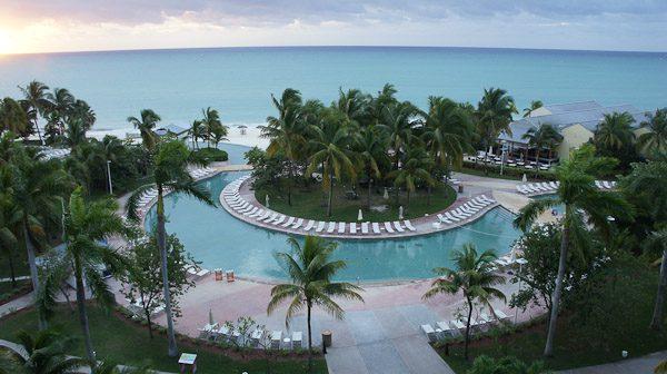 Visiting Grand Bahama Island - Pool View