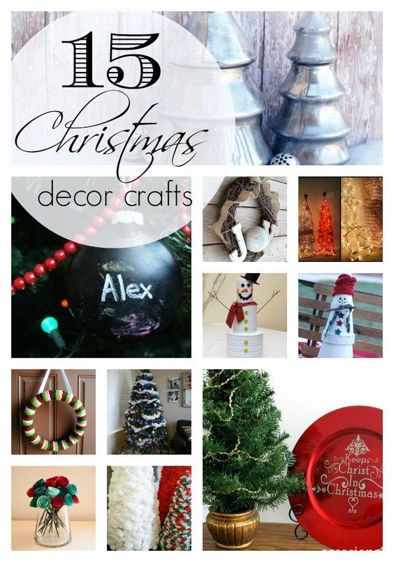 15 Christmas Decor Crafts