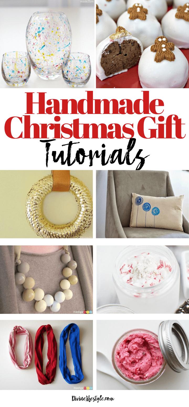 25 Handmade Christmas Gift Tutorials