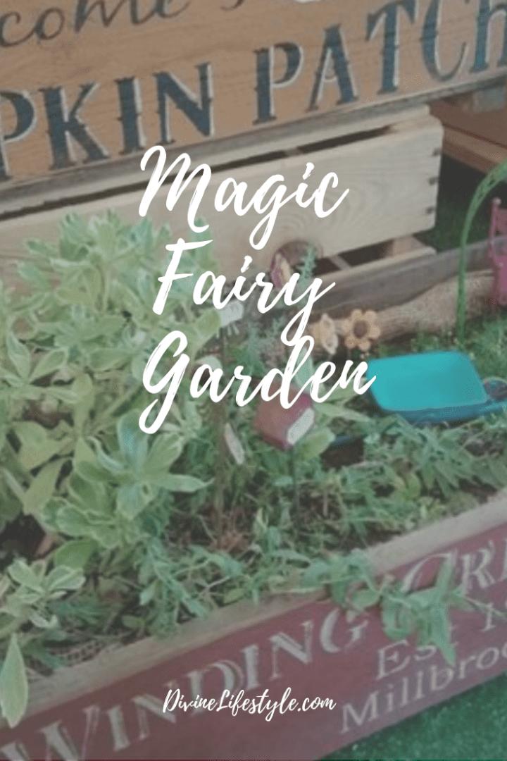 DIY Magic Fairy Garden