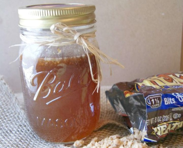 Easy Toffee Syrup Recipe