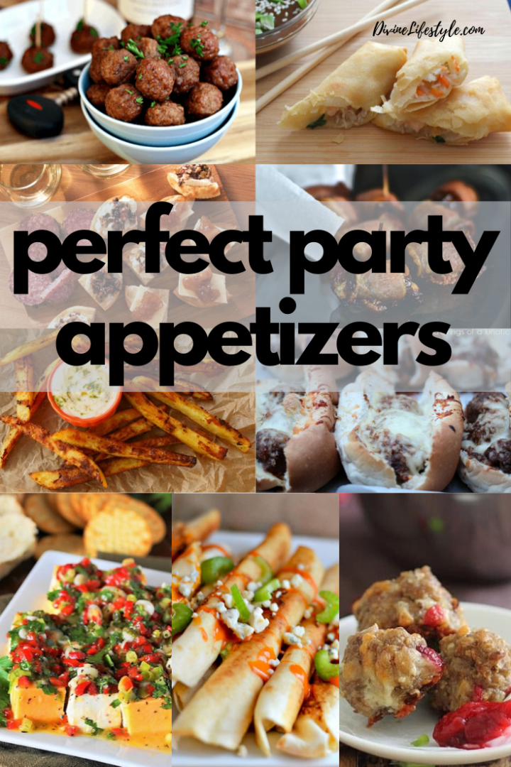 Perfect Party Appetizers