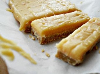 Simple Salted Caramel Shortbread Recipe