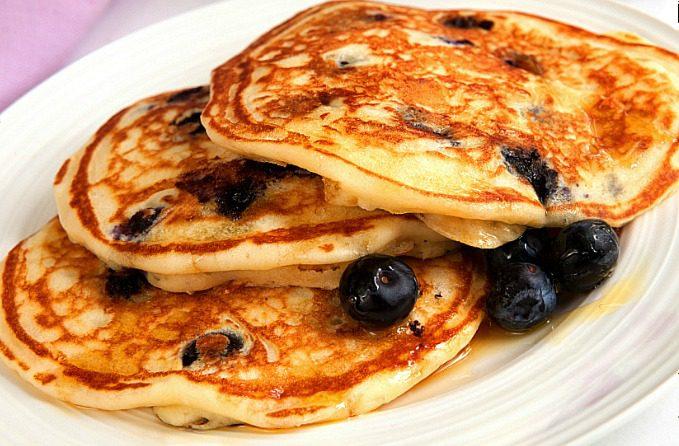 Blueberry-Pancakes