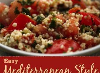 Easy Mediterranean Style Tabouli Recipe