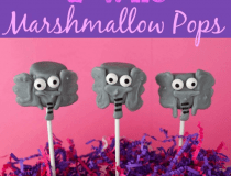 Horton Hears a Who Marshmallow Pops