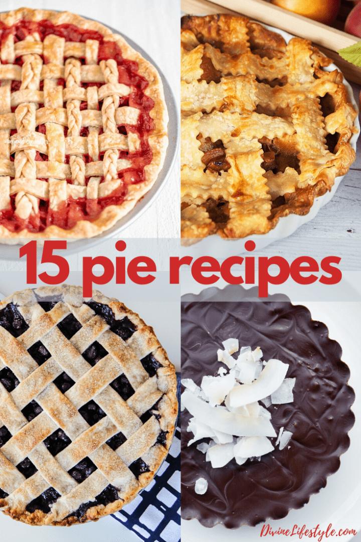 15 Pie Recipes