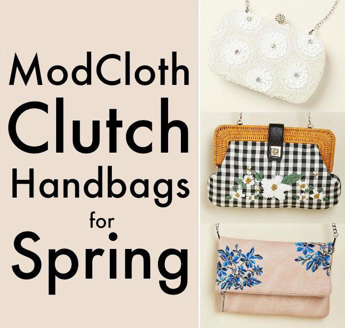 ModCloth Clutch Handbags for Spring