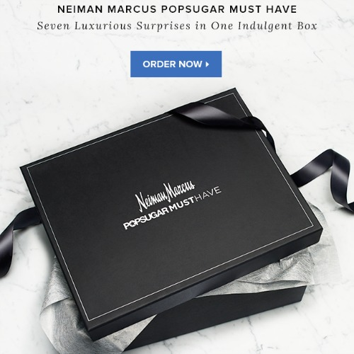 Neiman Marcus PopSugar Must Have Box October 2015 Top Shopping Picks as seen on Instagram
