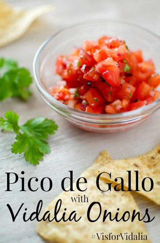 Pico De Gallo with Vidalia Onions Recipe