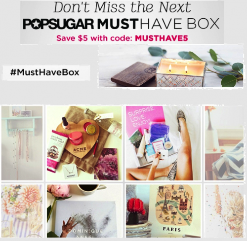 Popsugar Must Have Box Creative