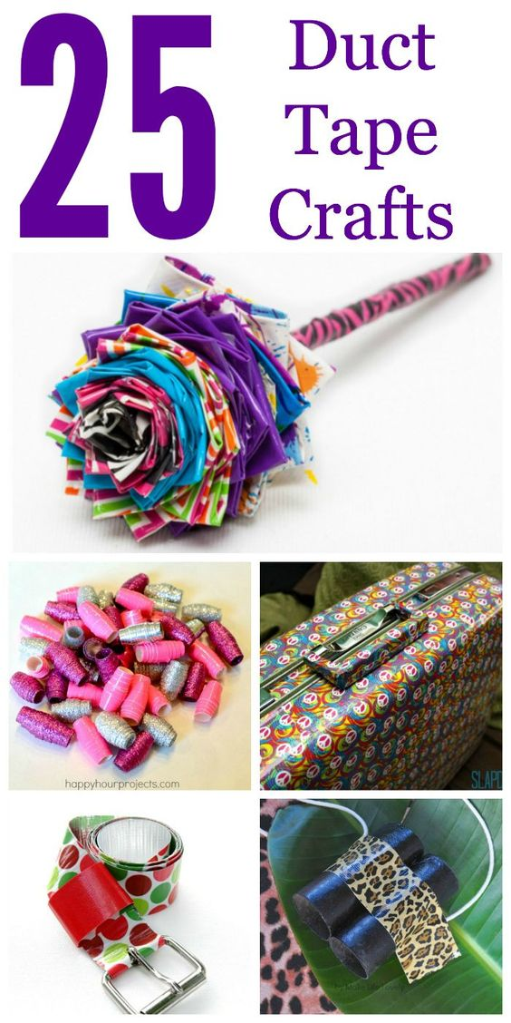 25 Duct Tape Crafts