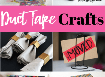 Easy Duct Tape Crafts