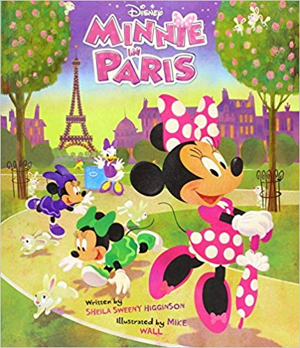 Minnie in Paris Duct Tape Handbag Tutorial Minnie in Paris Picture Book Disney