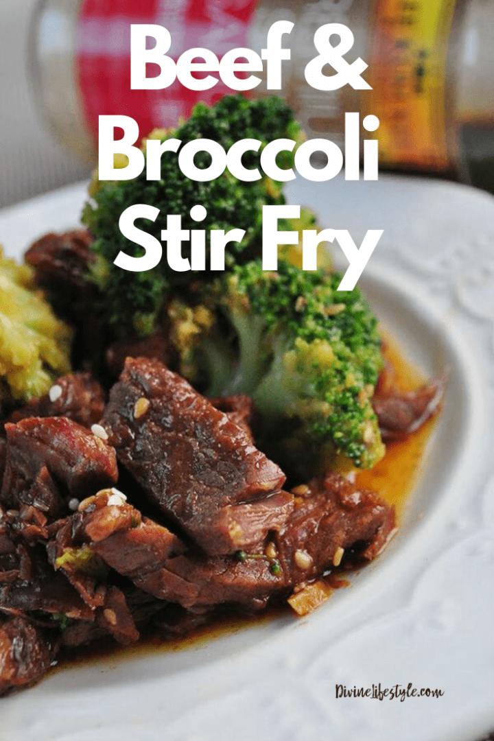 Beef with Broccoli Stir Fry
