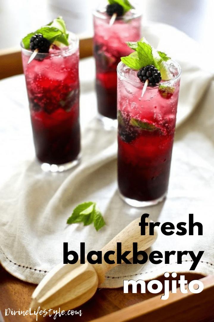 Fresh Blackberry Mojito Recipe