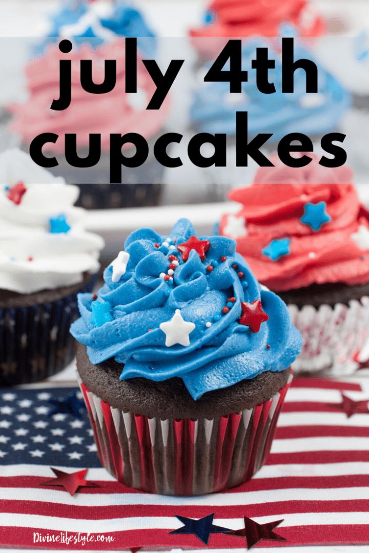 July 4th Cupcakes Recipe